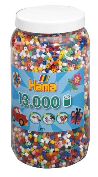 Hama Beads 13000 Bold Colours