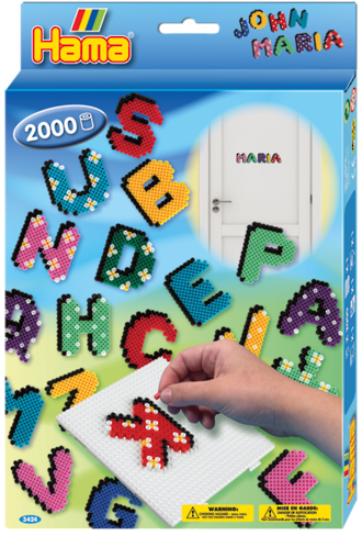 Hama Beads Letters Boxed Set