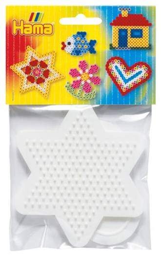 Hama Pegboard Bag - Sml Heart & Star