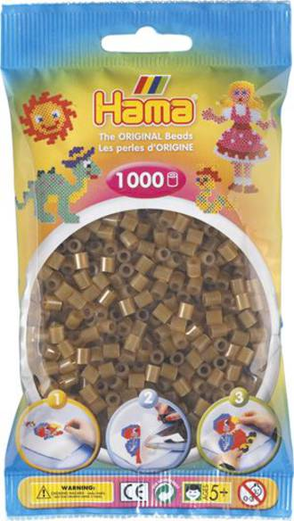 Hama Beads 1000  Translucent Brown