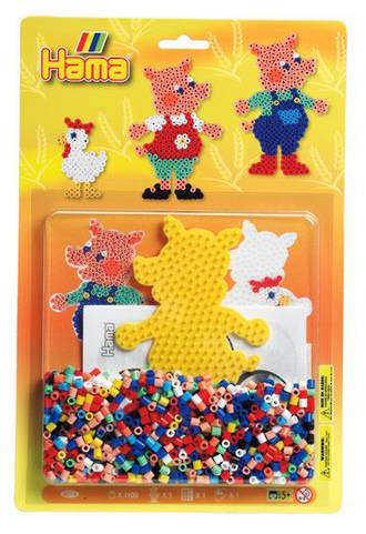Hama Blister Bead Kit Pigs