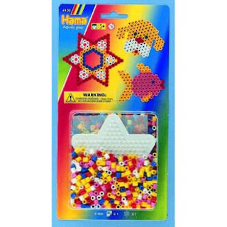 Hama Beads Star Pegbaords