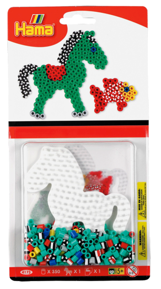 Hama Beads Striped Pony