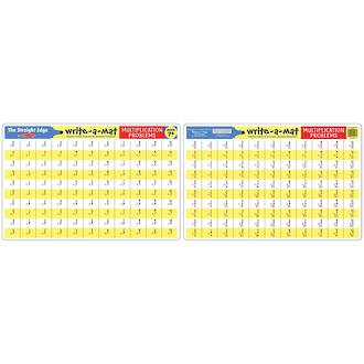 Melissa & Doug Multiplication Problems Write A Mat