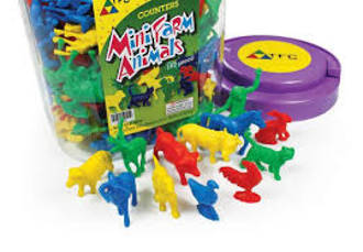 Mini Farm Animals Counters