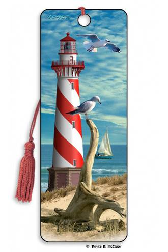3D Bookmark Light House