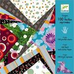 Djeco Origami 100 Printed Sheets
