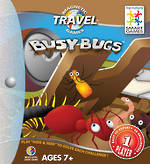 Magnetic Travel Busy Bugs Game ( 4 pieces)