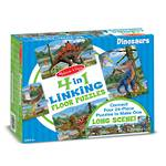 4 in 1 Linking Floor Puzzle Dinosaur