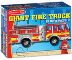 Floor Puzzle - Giant Fire Truck