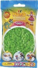 Hama Beads 1000  Fluorescent Green