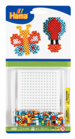 Hama Beads Striped Butterfly