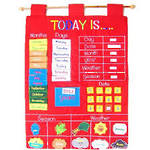 Today Is Children's Calendar Wall Chart