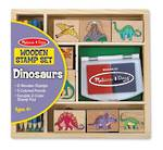 Dinosaurs Wooden Stamp Set